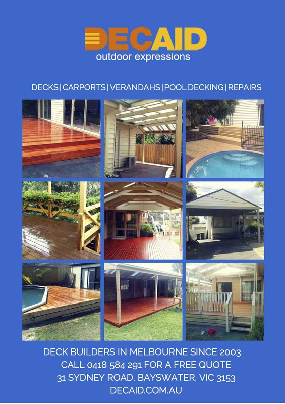 DECAID Outdoor Expressions - Deck Builders