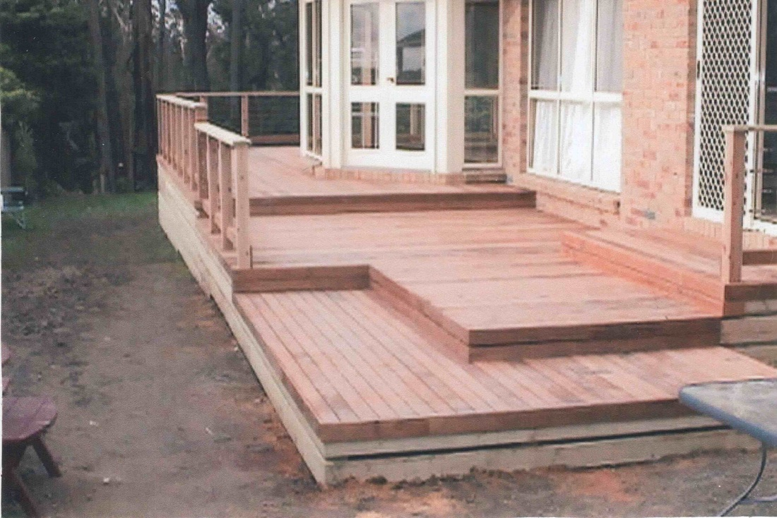 Melbourne Deck Builders, Timber Decking Now - The Basin 2003